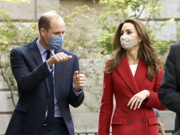 Kate Middleton et le prince William : duo complicité à Waterloo