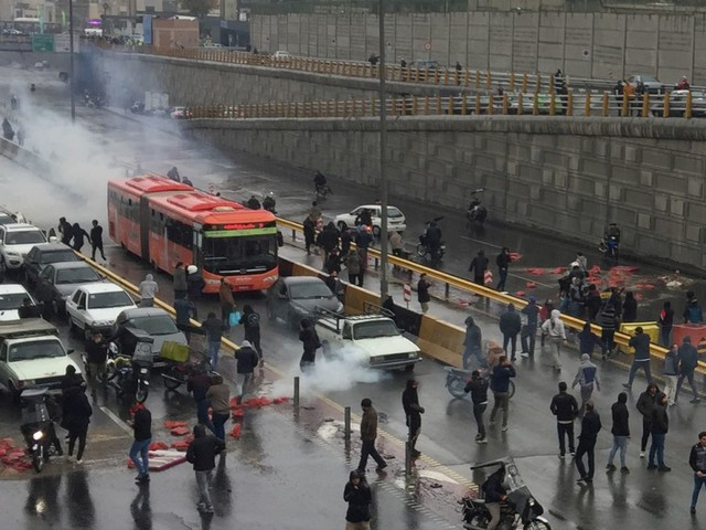 La France préoccupée par les informations sur les morts en Iran
