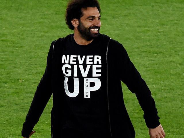 Liverpool - Barcelone: Mohamed Salah arborait le t-shirt parfait