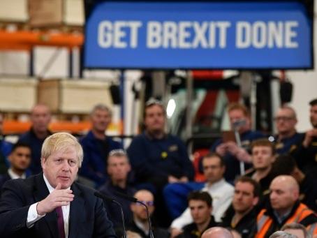 Brexit: Boris Johnson va insister sur des négociations éclair face à Bruxelles