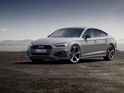 L'Audi A5 Sportback présente un look sportif plus marqué
