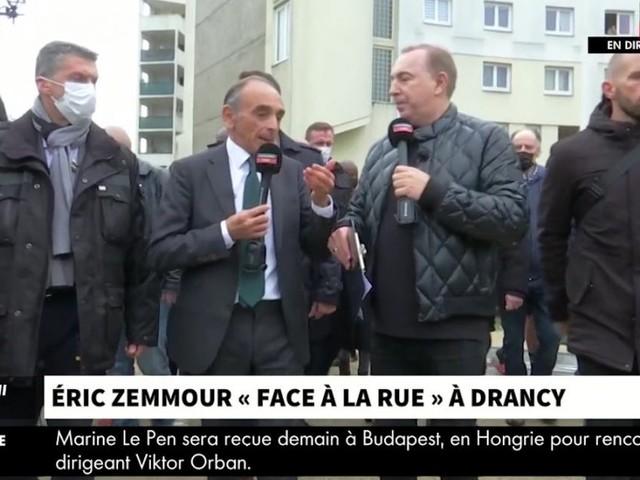 """Zemmour dans """"Face à la rue"""" : La ville de Drancy dénonce le """"cirque médiatique"""" de CNews"""