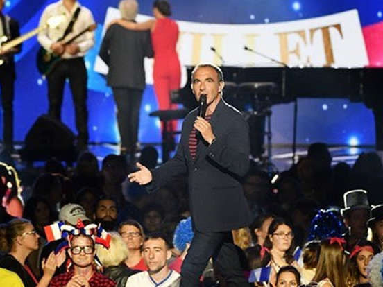 Audiences télé du 14 juillet : «Le concert de Paris» petit leader (France 2) suivi du «Bal du 14 juillet» (TF1)