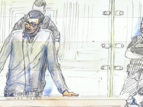 Djihadisme: Vingt-deux ans de réclusion pour l'ex-recruteur Mourad Farès