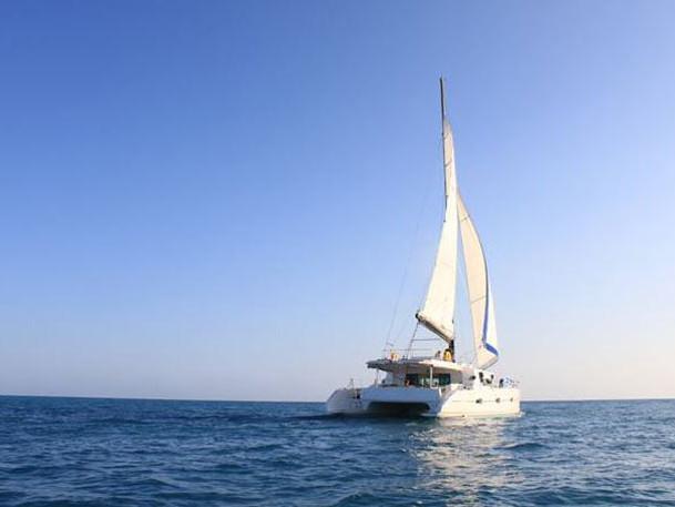 Direction les îles du Nord de Maurice en catamaran !