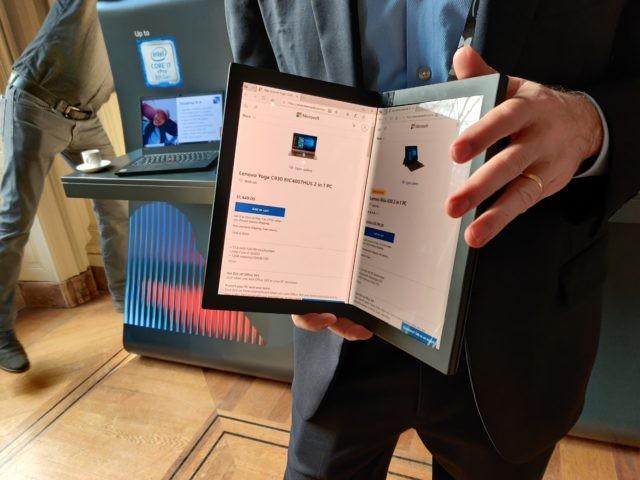 On a pu mettre la main sur le ThinkPad X1 Pliable de Lenovo et ça devient intéressant