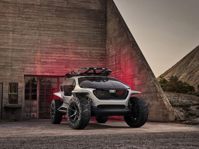 Audi AI:TRAIL Quattro: le concept tout-terrain électrique, venu du futur