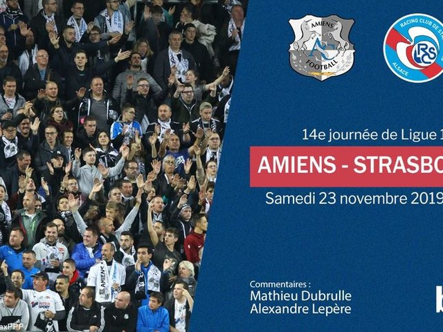 Ligue 1 (J14) : vivez en direct le match entre l'Amiens SC et le Racing Club de Strasbourg !