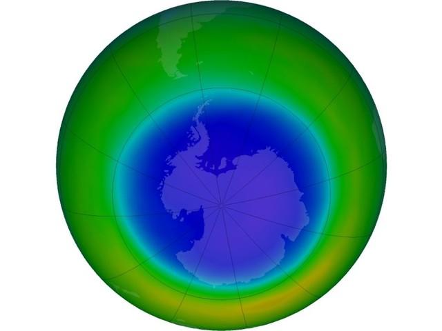 Le trou dans la couche d'ozone au-dessus du pôle Sud est désormais plus grand que l'Antarctique