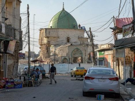 """Irak: après avoir vécu l'""""enfer"""", Mossoul se réjouit de la mort du """"boucher Baghdadi"""""""