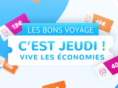 Les Bons Voyages KelBillet, le RDV du jeudi !