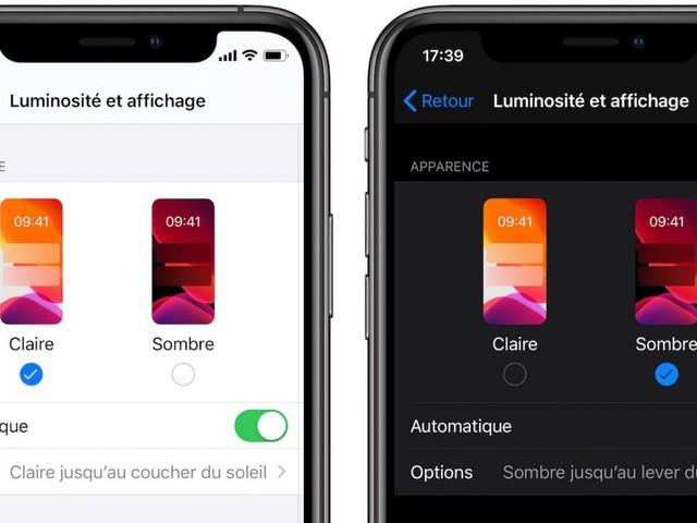 Vidéo : l'autonomie de l'iPhone s'améliore grâce au mode sombre d'iOS 13
