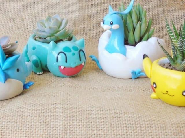 [TOPITRUC] Des pots de fleurs Pokémon, pour faire des Poképlantes