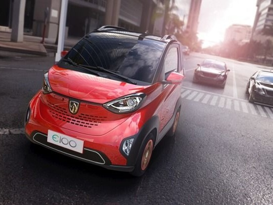 Une voiture électrique à 4500euros c'est possible en Chine