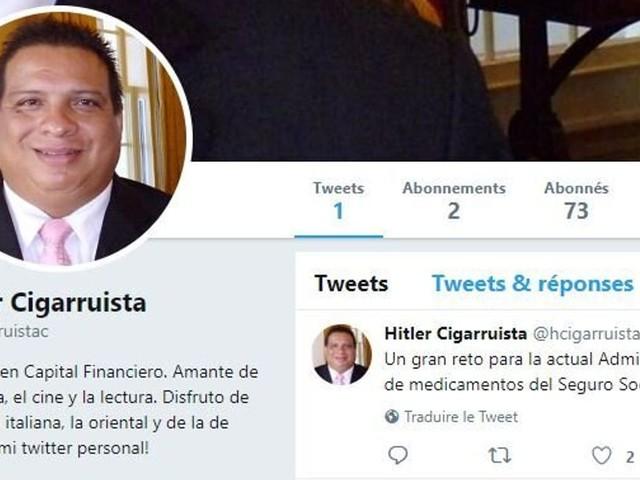 Prénommé Hitler, ce Panaméen n'a pas la vie facile pour s'inscrire sur les réseaux sociaux