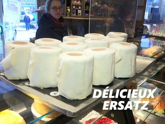Grâce au papier toilette, ce boulanger a trouvé la méthode pour vendre des gâteaux