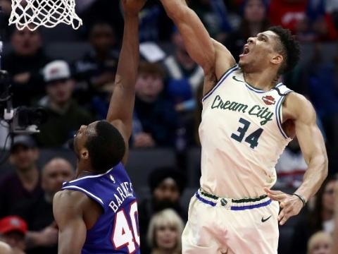 NBA: Bucks et Lakers planent sur la Ligue, Harden plane à 20.000