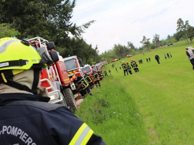Les agressions contre les pompiers flambent en 2019