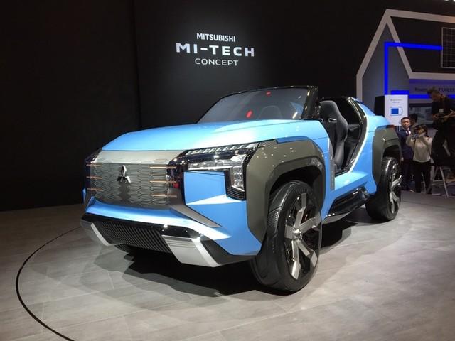 Mitsubishi Mi-Tech Concept : le mastodonte - En direct du Salon de Tokyo 2019