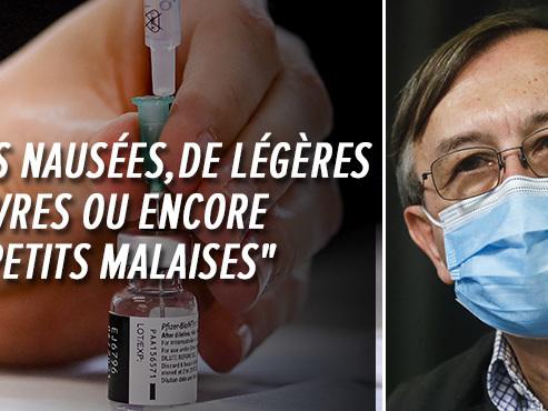 """50.000 personnes vaccinées en Belgique, """"peu d'effets secondaires constatés"""", indique Yves Van Laethem"""