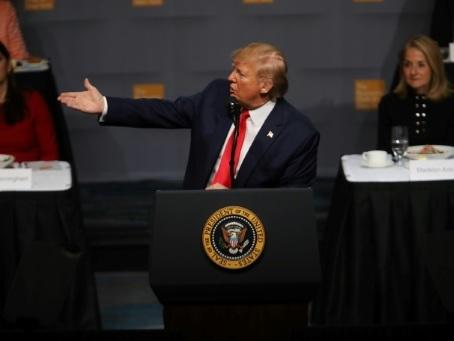 Trump minimise l'impact de la guerre commerciale sur les Etats-Unis