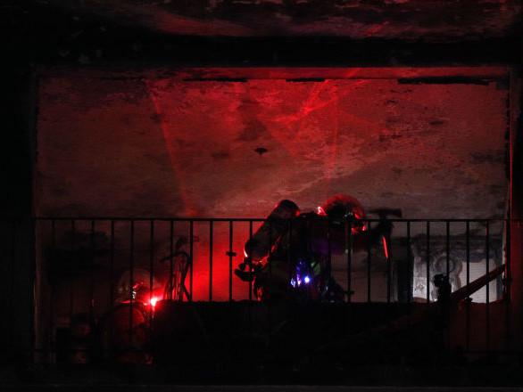 Un mort et des blessés dans l'incendie d'un immeuble près de l'hôpital Mondor à Créteil – images