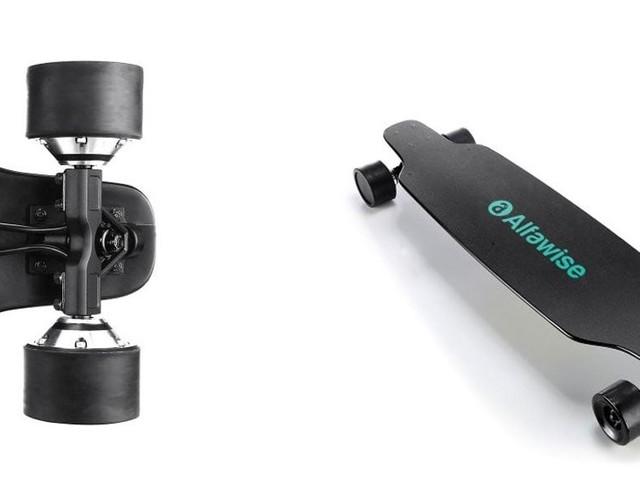 Gagnez un temps précieux grâce à ce skateboard électrique en promotion