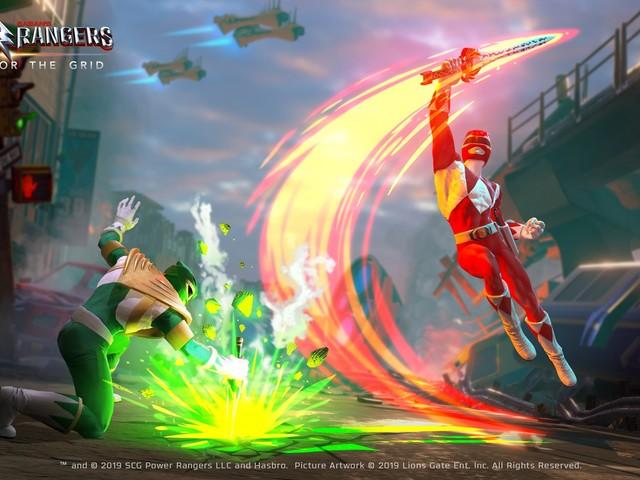 Un jeu de combat Power Rangers bientôt sur PS4, Xbox One, Switch et PC (bande-annonce)