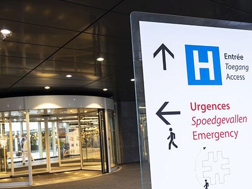 Coronavirus: les hôpitaux bruxellois n'observent pas encore l'effet des mesures restrictives