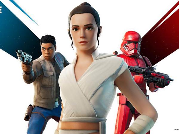 Star Wars 9 : Rey et Finn arrivent dans Fortnite