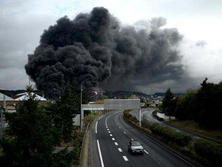 """Lubrizol: dans les Hauts-de-France, le nuage a """"choisi ses communes"""""""