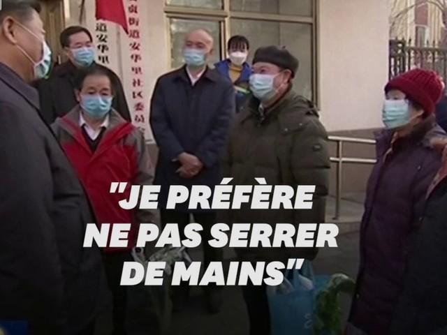 Coronavirus: masqué, Xi Jinping appelle à des mesures plus fortes