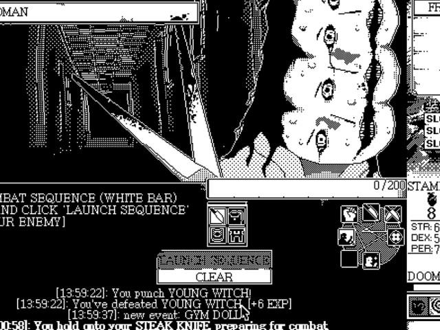 [Zone 42] World of Horror : plongez dans ce jeu d'horreur créé sur Paint et jouable dès maintenant