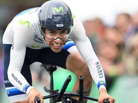 """Cyclisme: Castroviejo champion d'Espagne du """"chrono"""" pour la 3e fois"""