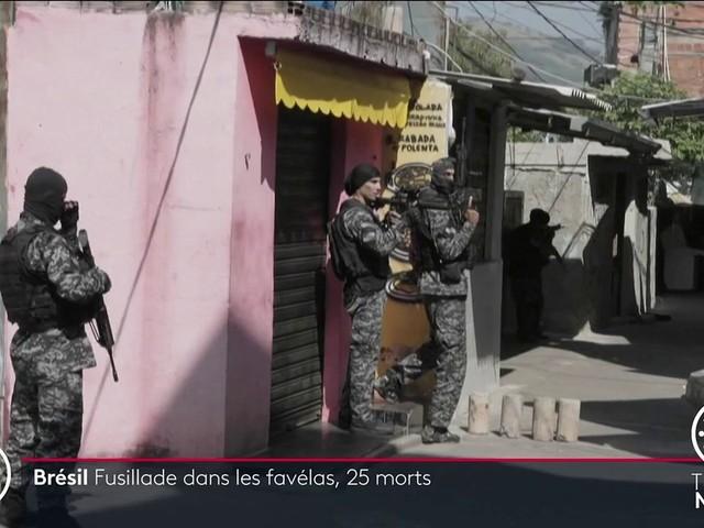 Brésil : une opération antidrogue tourne au bain de sang dans une favela de Rio de Janeiro