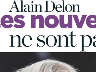 Alain Delon très fragile, grosse distance avec ses enfants, la preuve (photo)