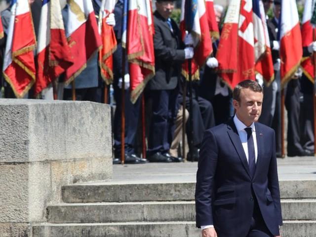 Macron à Oradour-sur-Glane: «Notre conscience ici s'insurge»