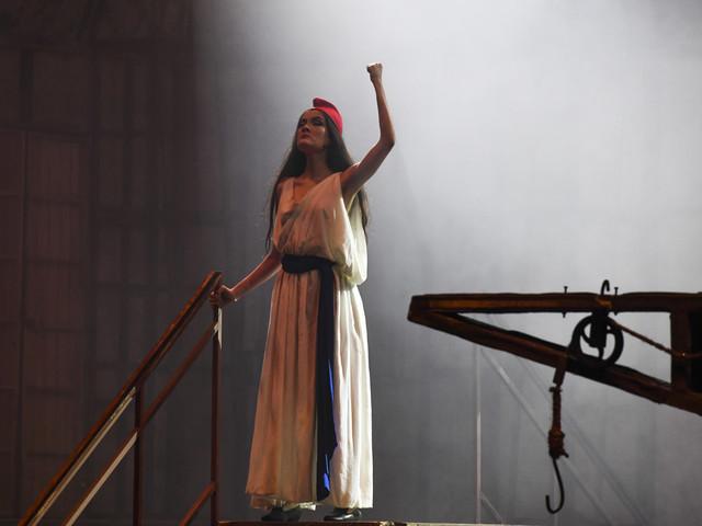 """Monter """"Les Misérables"""" à Caracas, un acte de """"rébellion"""" en pleine crise"""