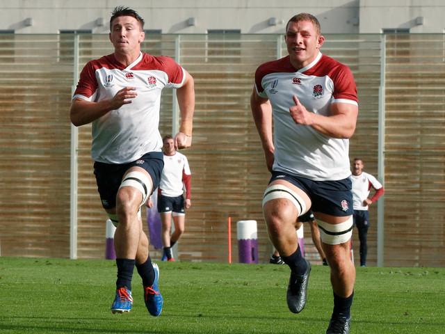 Rugby - Coupe du monde 2019 - Angleterre : Curry et Underhill, les chiens fous d'Eddie Jones