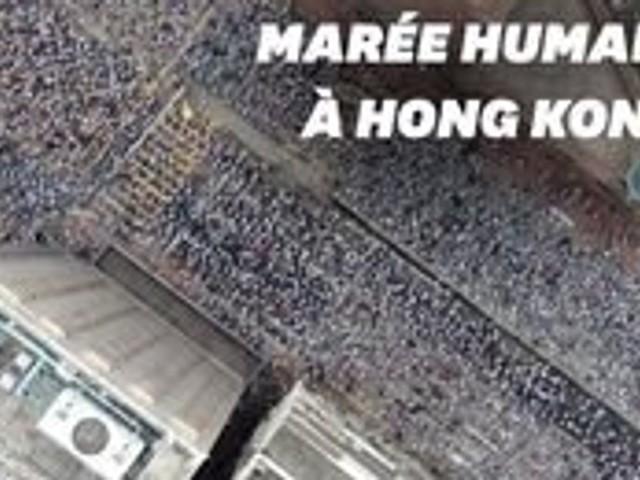 Un million de manifestants à Hong Kong contre un projet de loi pro-Pékin