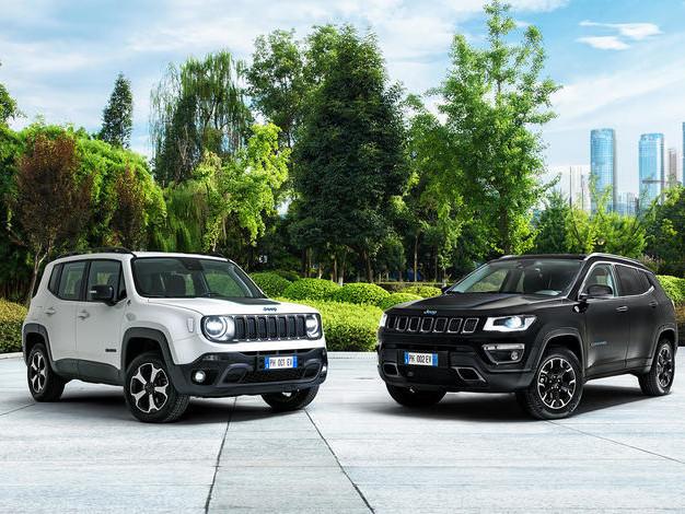 Jeep Renegade et Compass hybrides rechargeables: prix dès 40900€