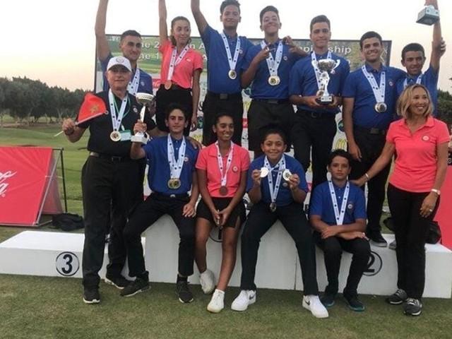 Le Maroc remporte 6 médailles d'or aux Championnats arabes juniors et dames de golf