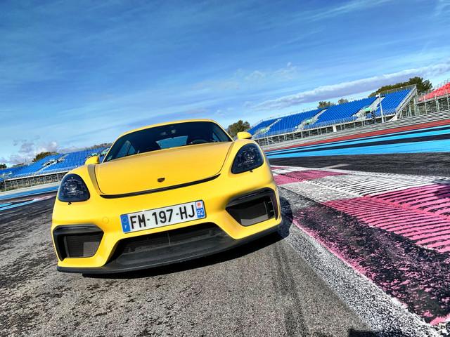 Porsche Cayman GT4 : les photos de notre essai