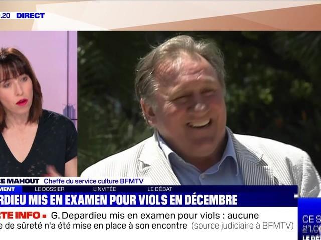 """Gérard Depardieu mis en examen pour """"viols"""" et """"agressions sexuelles"""" en décembre - 23/02"""