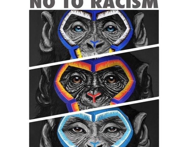 Cette campagne antiracisme dans le foot italien, représentant trois singes, ne passe pas