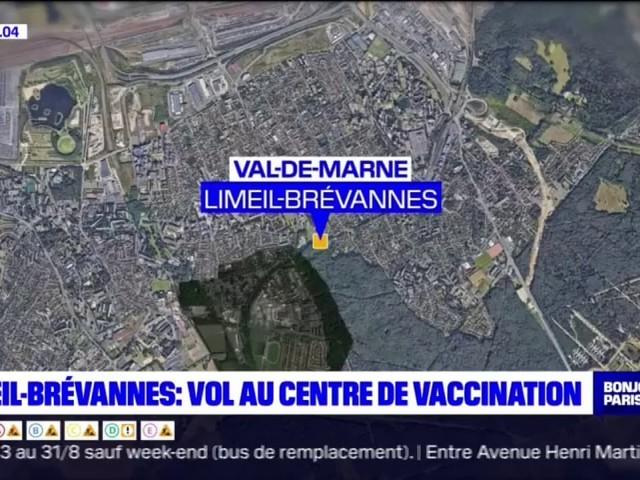 Des ordinateurs, une boîte de vaccins et deux véhicules dérobés au centre de vaccination de Limeil-Brévannes
