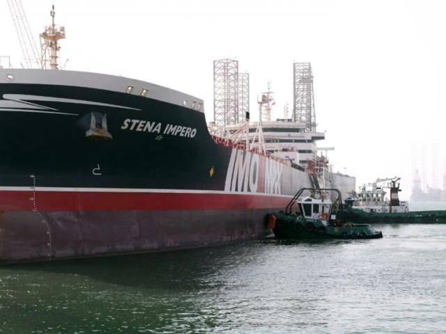 Le pétrolier suédois libéré par l'Iran est arrivé au port de Dubaï