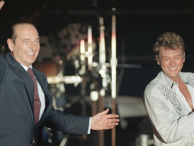 Mort de Johnny Hallyday: quand l'idole des jeunes chantait la politique (et vice versa)