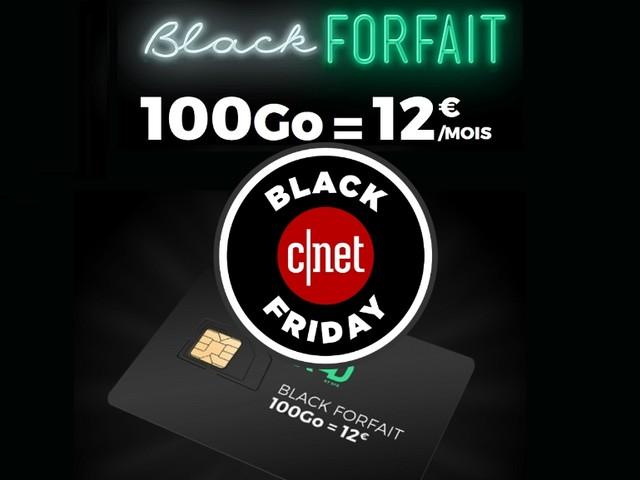 Pourquoi le forfait mobile RED by SFR 100 Go à 12 euros est LE forfait du Black Friday