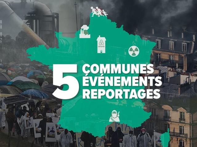 Municipales 2020: 5 reportages dans 5 villes marquées par l'actualité